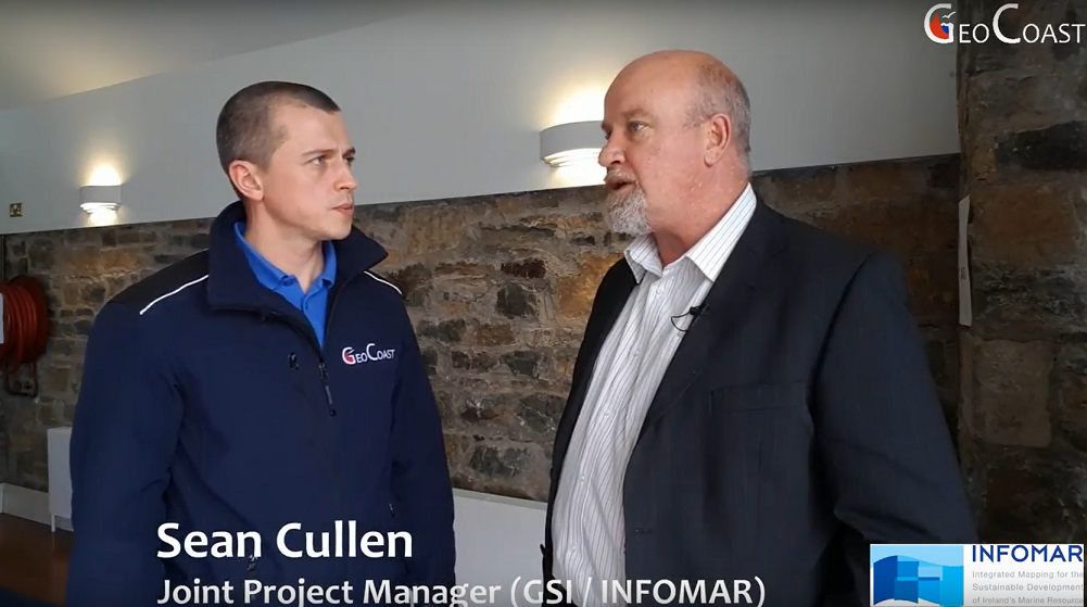 Sean Cullen. INFOMAR joined project manager