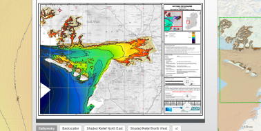 Bathymetry Charts viewer